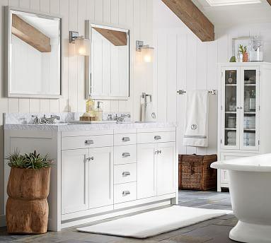 Classic Linen Closet, White