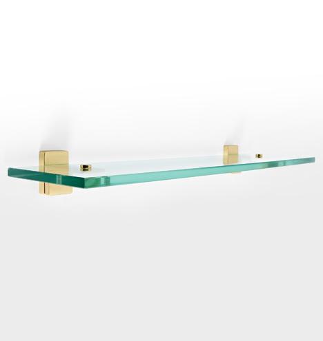 "Yaquina 20"" Glass Shelf Set"