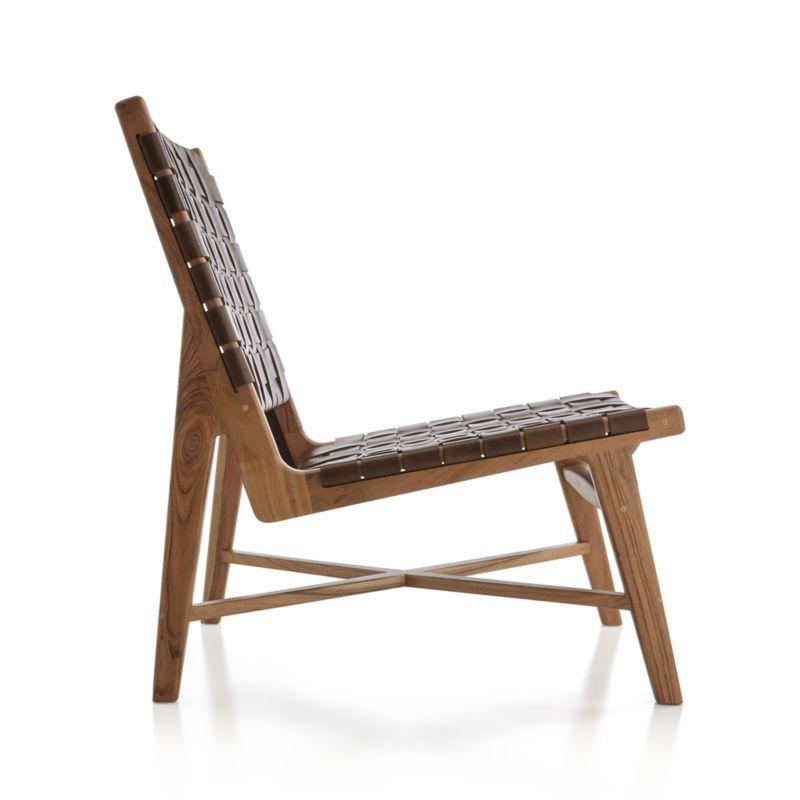 Taj Leather Strap Chair