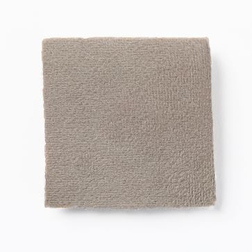 Upholstery Fabric by the Yard, Performance Velvet, Dove Grey