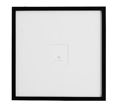 "Wood Gallery Oversized, 18""x18"" Black"