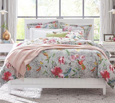 Beadboard Bed, Simply White, California King