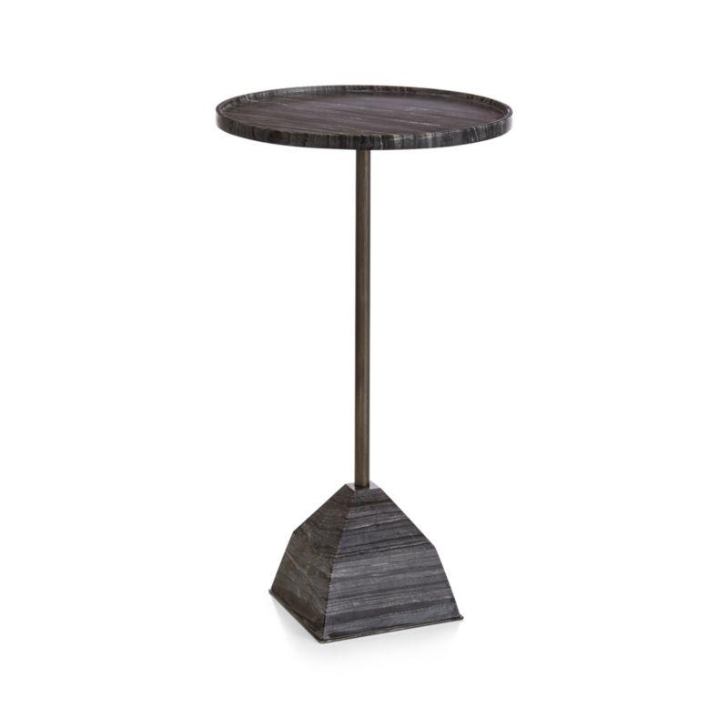 Prost Medium Marble Drink Table