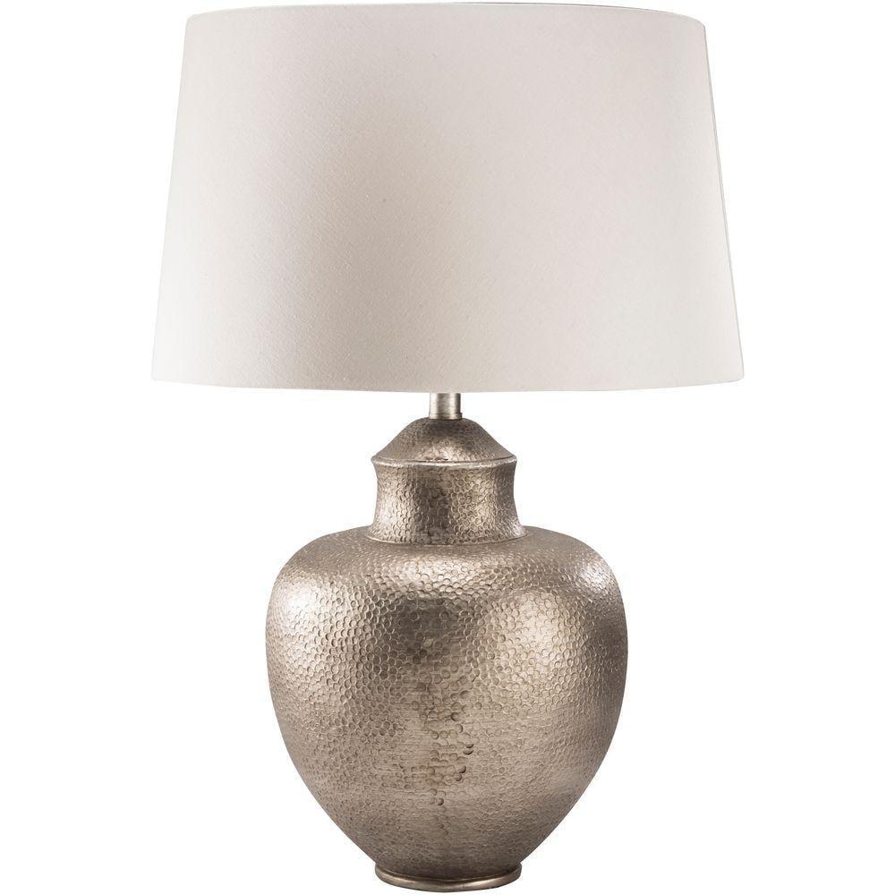 Artistic Weavers Atana 26 in. Antiqued Silver Tone Indoor Table Lamp