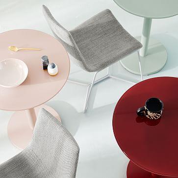 Chroma Bistro Table, Small, Oxblood