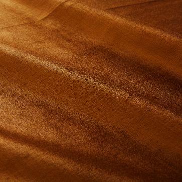 """Luster Velvet Curtain, 48""""x96"""", Golden Oak"""