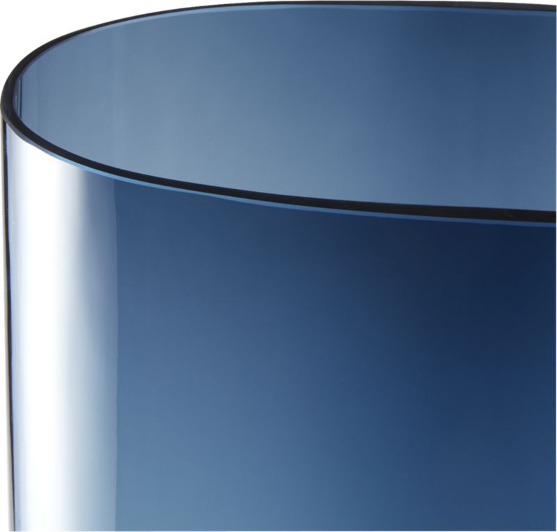 Ionia Tall Blue Glass Vase