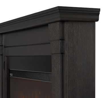 Real Flame(R) Carlisle Grand Electric Fireplace, Gray