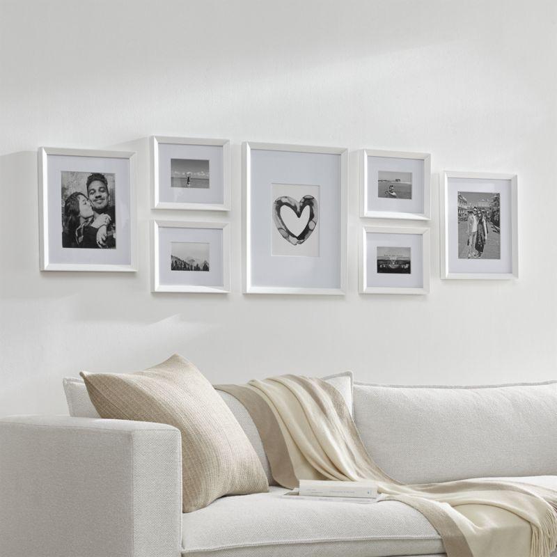 Icon 5x5 White Wall Frame