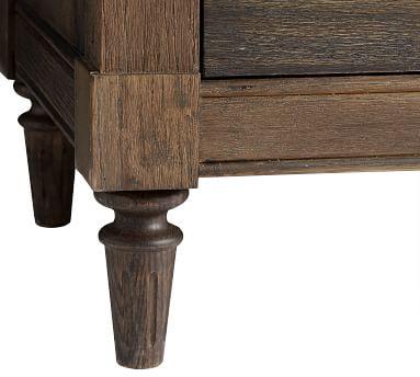 Brookdale Extra Wide Dresser, Weathered Chestnut