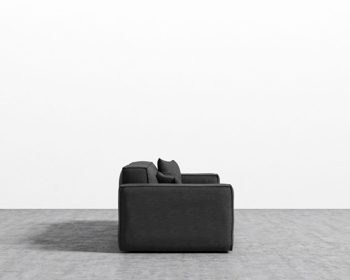 Porter Sofa - Narwhal  Black Plastic