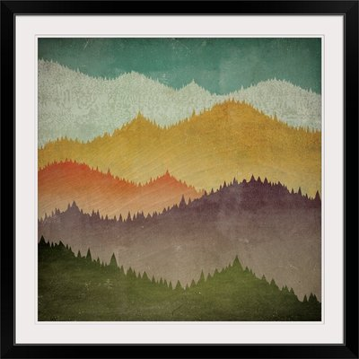 'Mountain View' by Ryan Fowler Graphic Art Print