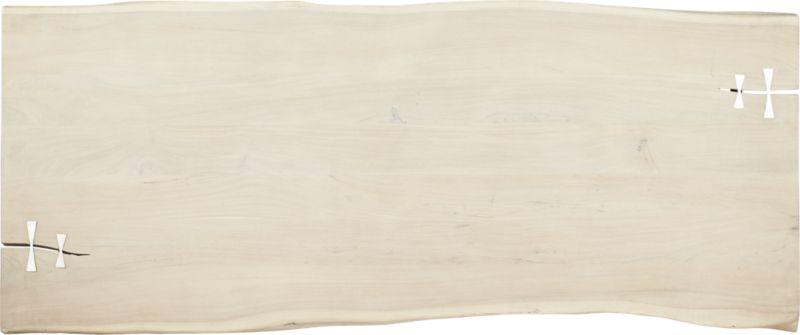 Landscape White Washed  Wood Dining Table