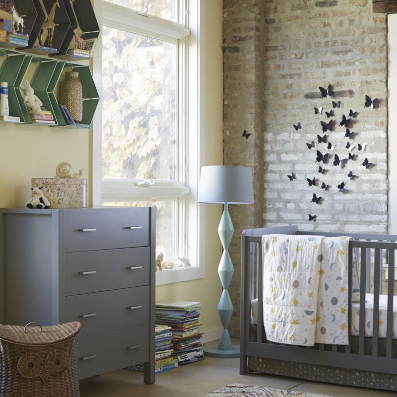 Carousel Grey Crib