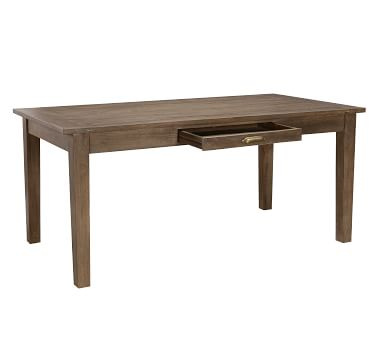 Arrington Dining Table, Antique Taupe
