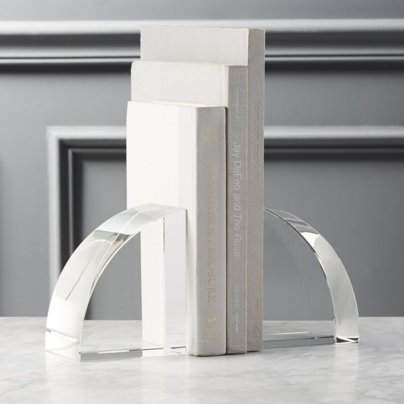 Crystal Glass Bookend