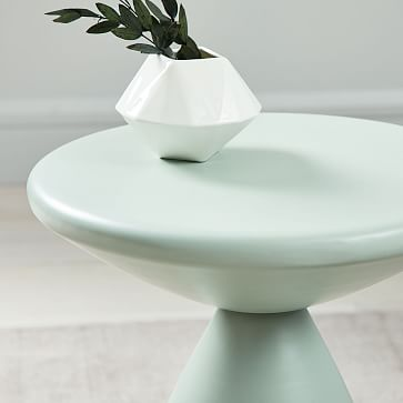 Cosmo Side Table, Dusty Mint