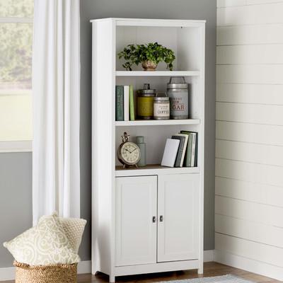 Myrasol Standard Bookcase White Wayfair