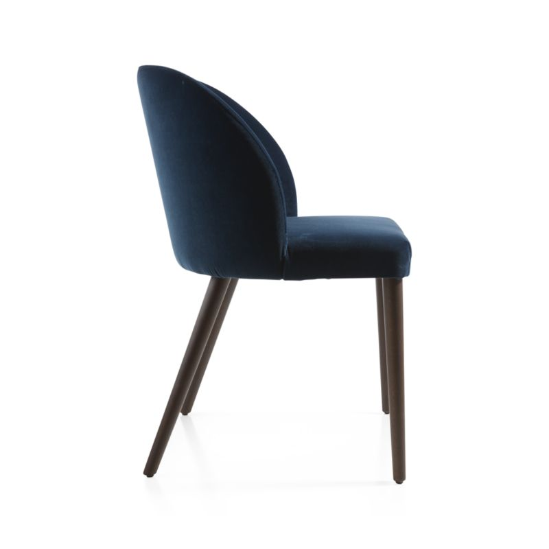 Camille Navy Velvet Dining Chair