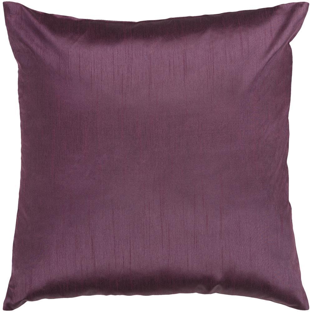 Visoko Poly Euro Pillow, Purple