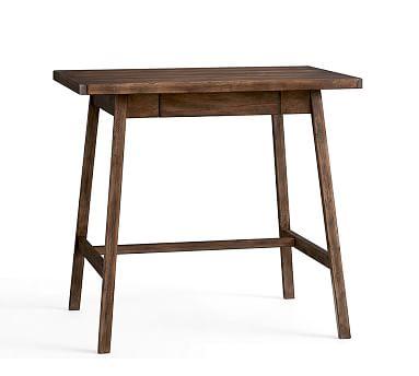 Mateo Small Rustic Desk, Salvaged Black