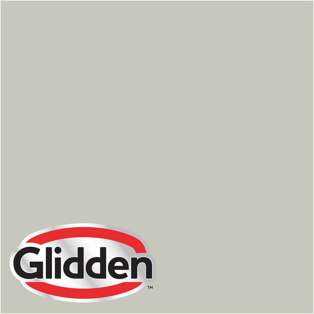 Glidden Premium 8 oz. #HDGCN07U Miller's Cove Sage Eggshell Interior Paint Sample, Multi