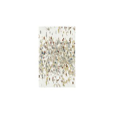 Paint Palette Rug, Cayenne, 8'x10'