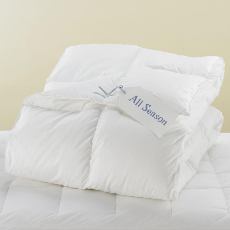 Kids Full-Queen Natural Harmony ™ All Season Down Alternative Comforter
