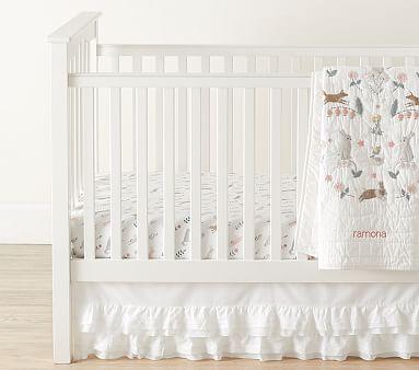 Ramona Toddler Quilt, Toddler, White Multi