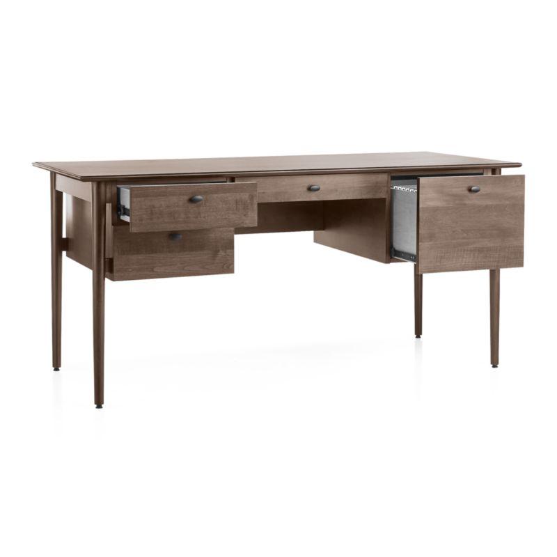 Kendall Cocoa Desk-Cocoa