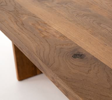 Hearst Dining Table, Dark Smoked Oak