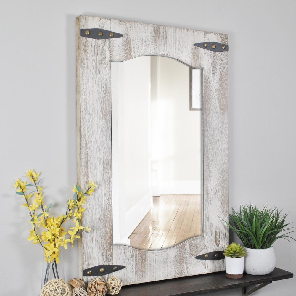Barn Door Wall Mirror
