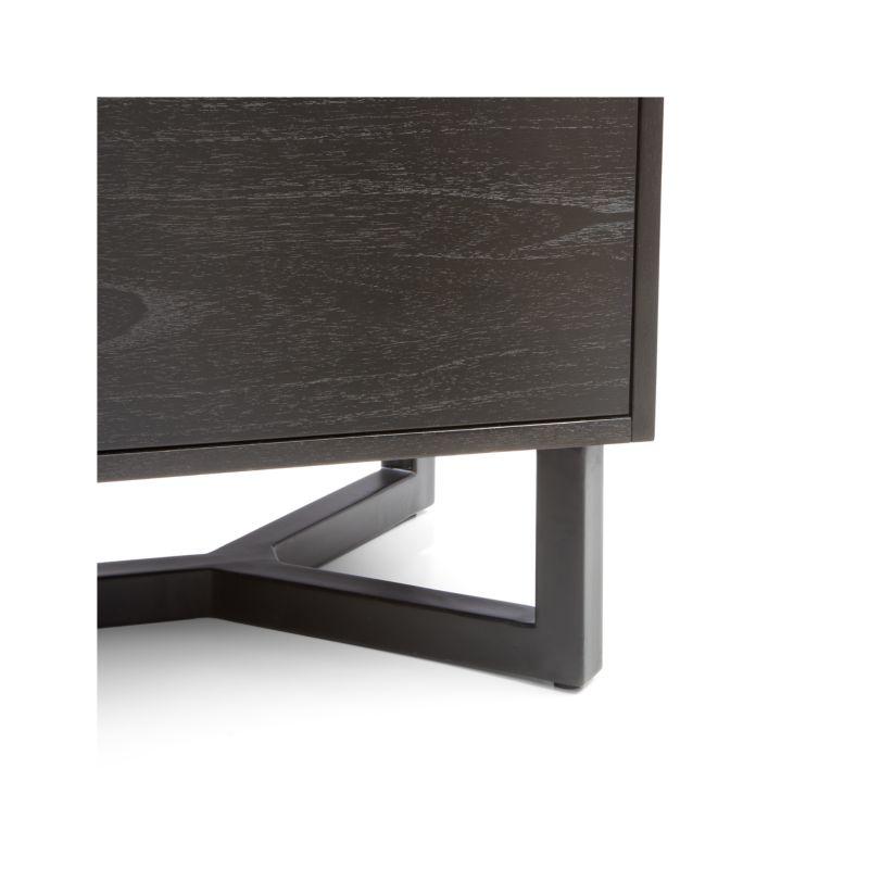 Verge Black Sideboard