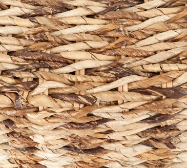 Woven Abaca Round Coffee Table