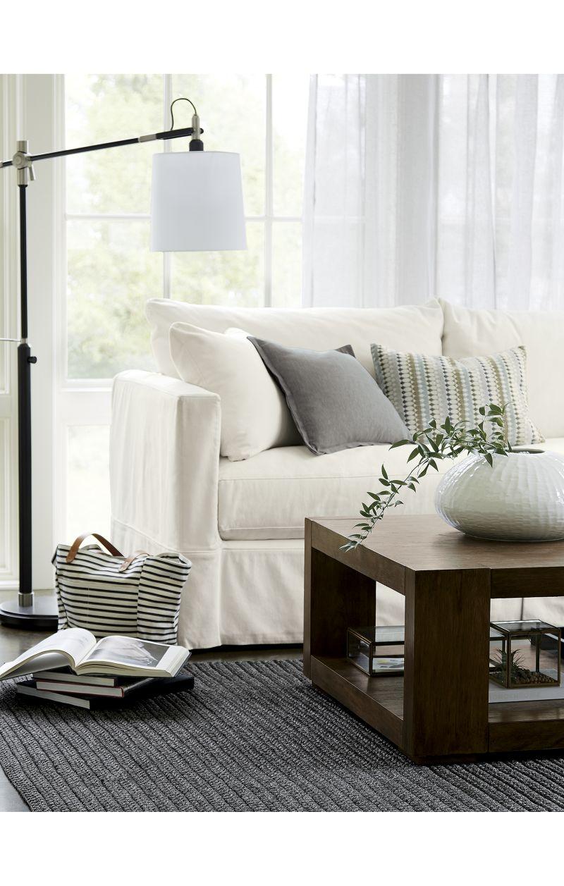 Slipcover Only for Willow Modern Slipcovered Sofa - Kingston, Peppe