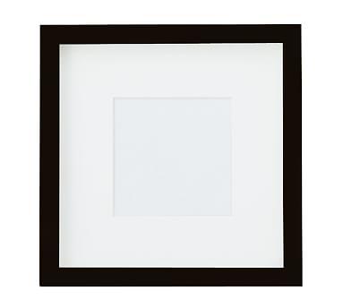 Wood Gallery, 5X5 - Black