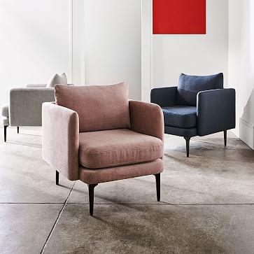 Auburn Chair, Distressed Velvet, Olive, Dark Mineral, Poly