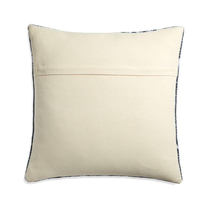 """Eleni Printed Indigo Pillows 20"""", Set of 2"""