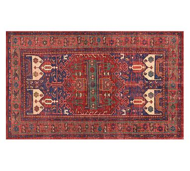 Nicolette Hand-Knotted Rug, 8 x 10', Warm Multi