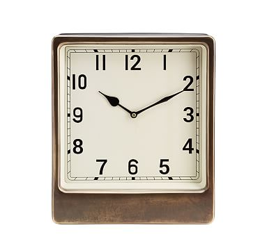 Anton Desktop Clock, Large