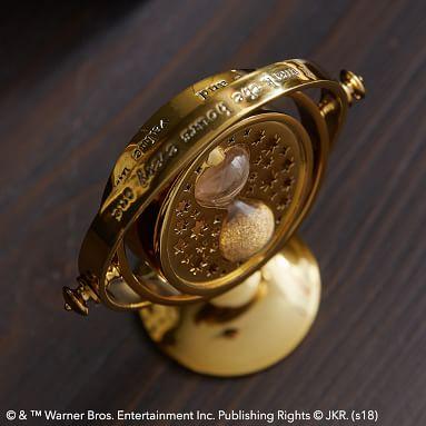 Harry Potter(TM) Time Turner(TM) Clock, Gold