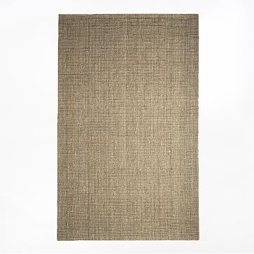 Jute Boucle Rug, 9'x12', Flax