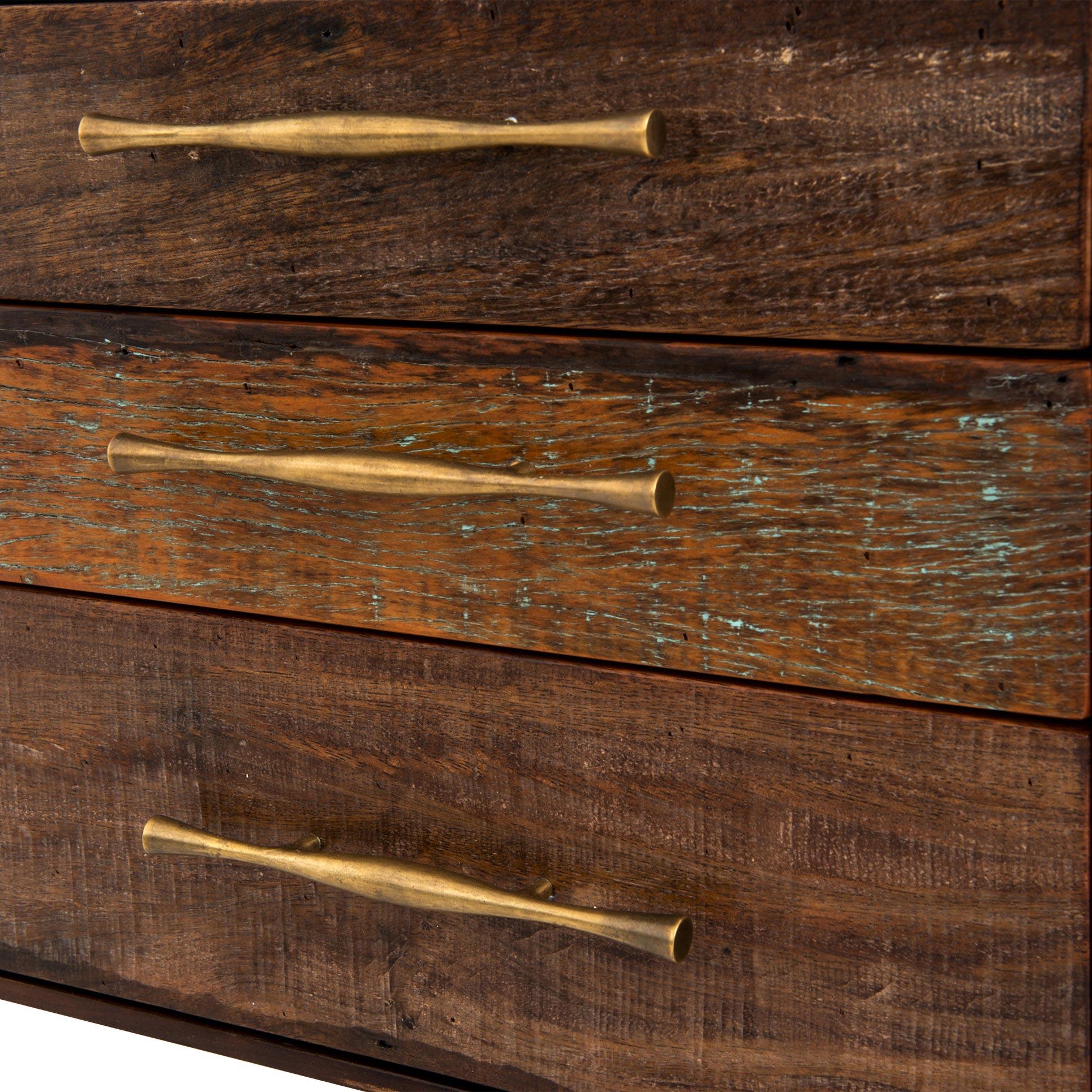 Wayland Iron Lodge Mid Century Wood Desk