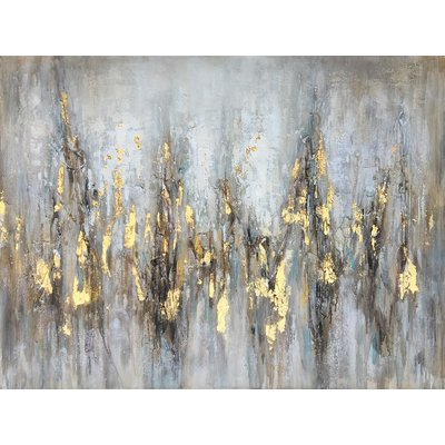 Gleaming Gold' Oil Painting Print on Wrapped Canvas