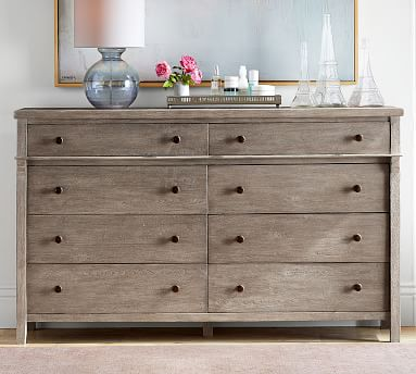 Toulouse Extra-Wide Dresser, Gray Wash