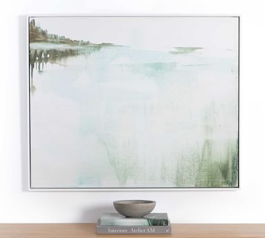 "Sanctuary V Framed Canvas, 40"" x 30"""