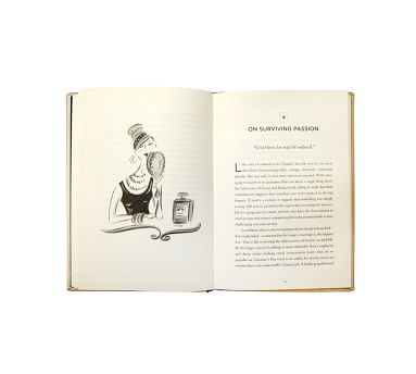 The Gospel According to Coco Chanel Leather Book