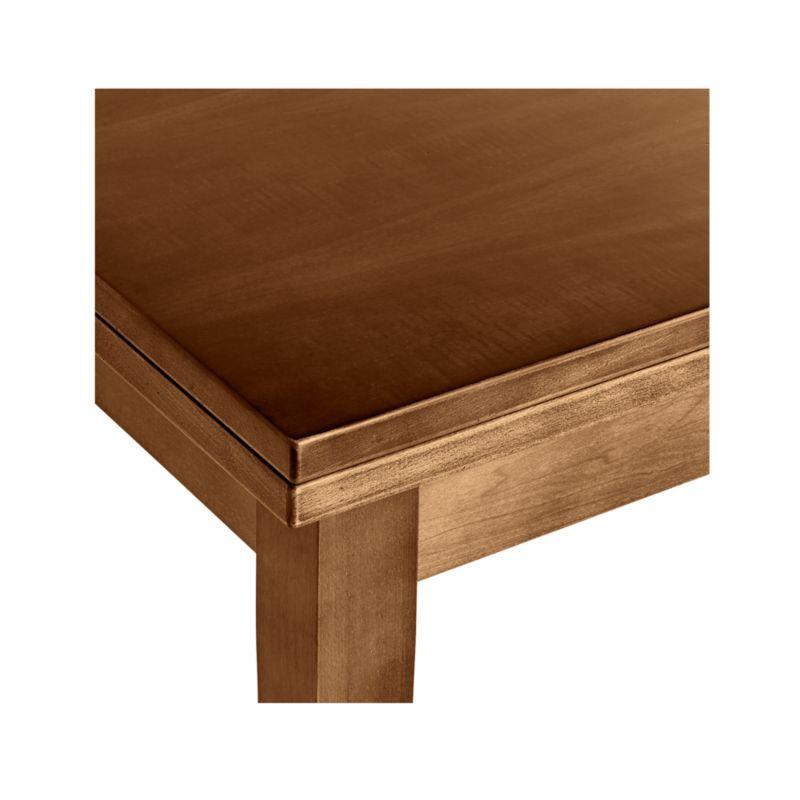 Pratico Nero Noce Extension Square Dining Table