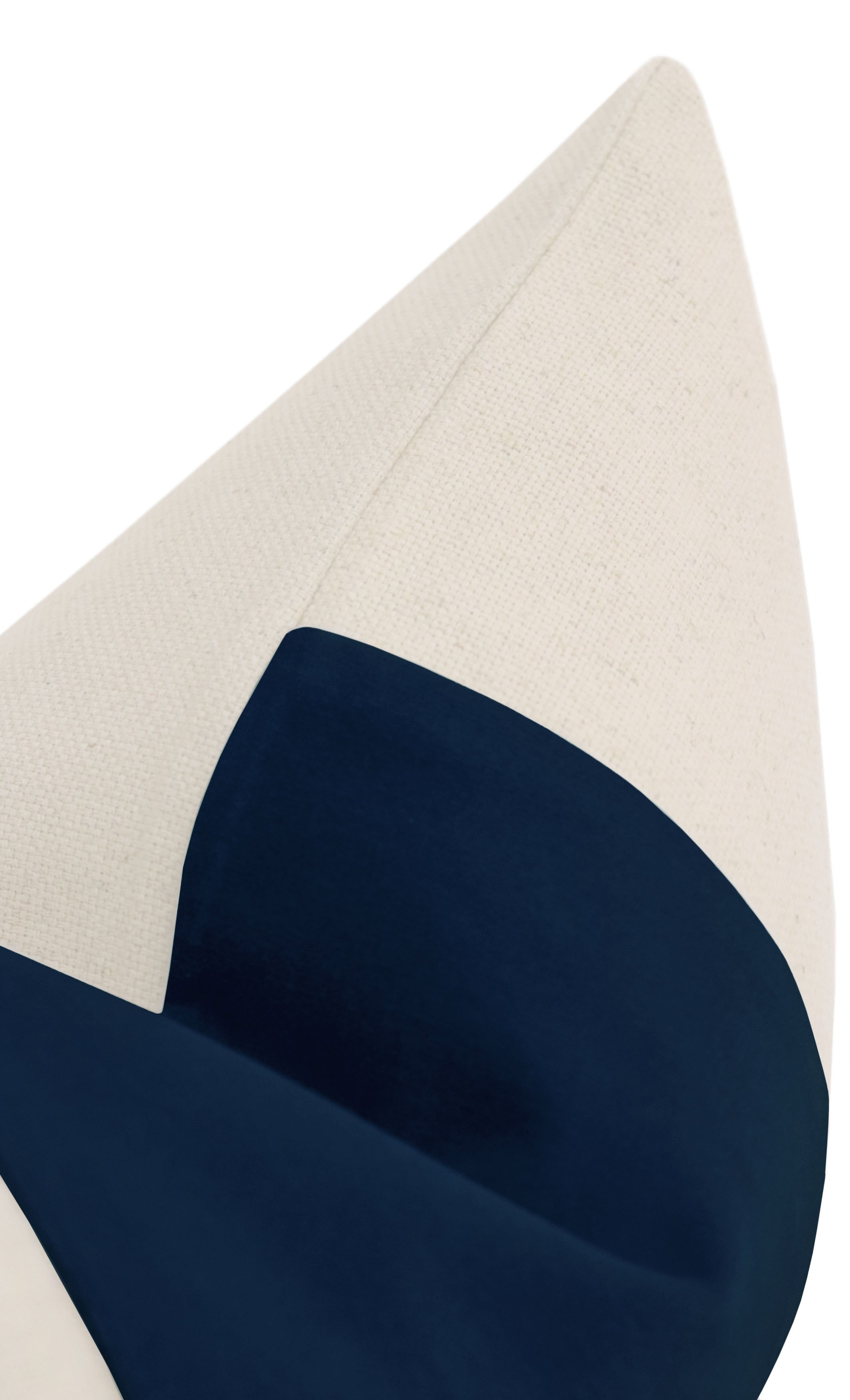 "The Little Lumbar :: PANEL Signature Velvet // Sapphire - 20"" x 20"""