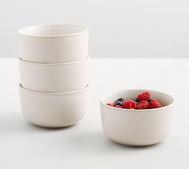Mason Berry Bowl, Set of 4 - Ivory